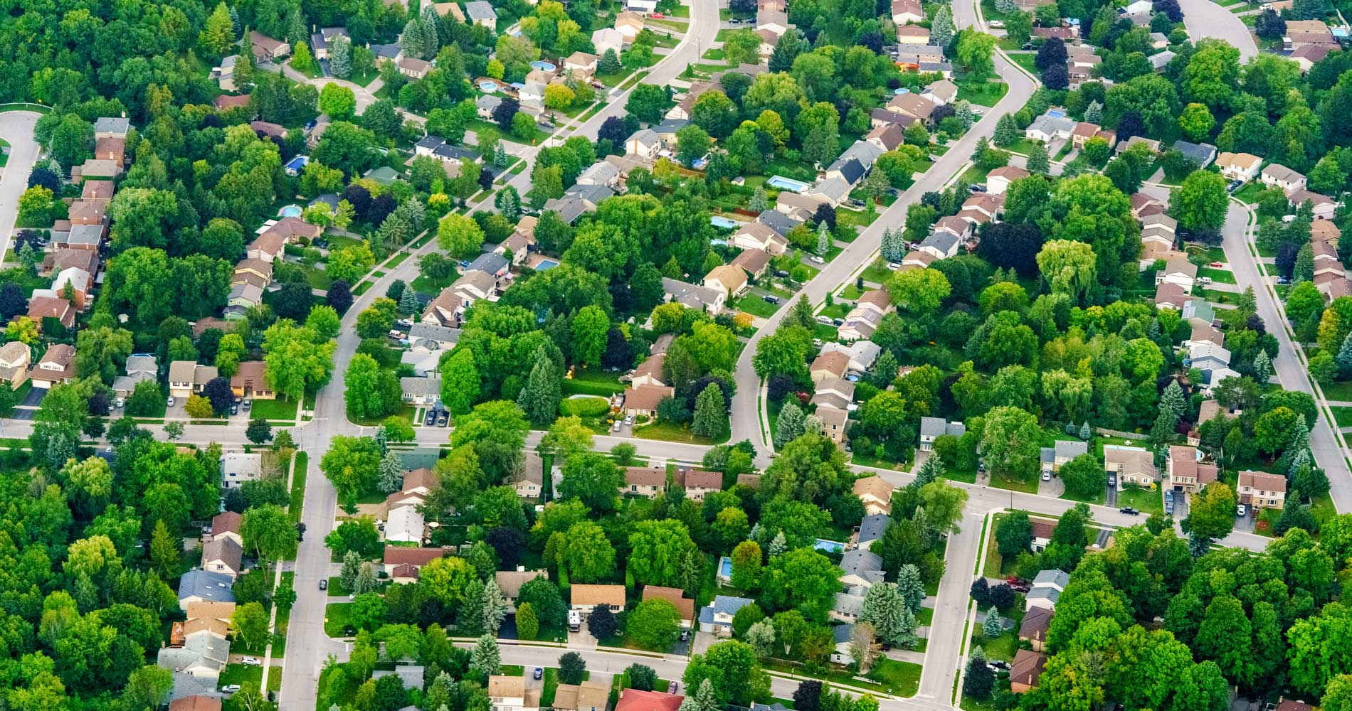 Aerial View Of Oshawa Whitby Ajax And Pickering Vivid