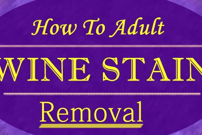 How to Remove Wine Stain Using Simple Ingredients