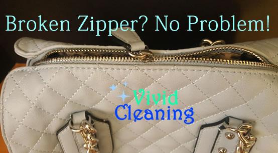 How To Fix A Leather Purse Zipper