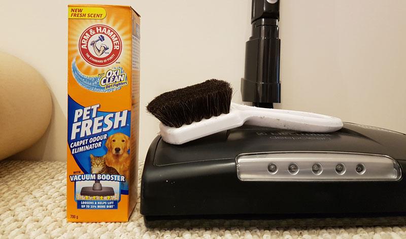 How to Apply Carpet Deodorizer