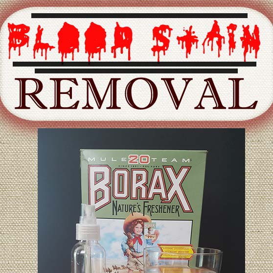 How to Clean Blood Stains Out of Sheets - The Borax Solution