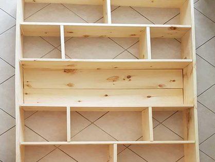 DIY Shelf Building & Shelf Painting - Easy Custom Made Furniture Guide