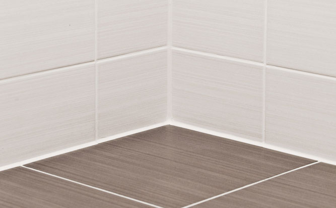How to clean neglected tile and grout.